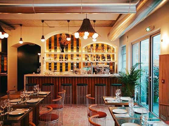 restaurant Deskopolitan Laia